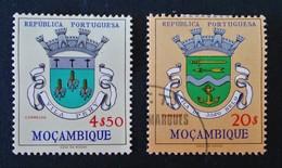 ARMOIRIES DE VILLES 1961 - NEUF */OBLITERE - YT 473 + 477 - Mozambique