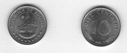 Bolivia - 10 Centavos 1965 UNC Lemberg-Zp - Bolivia