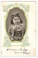 K 1468 VERY OLD ( 1905 ) FANTASY  POSTCARD   , CHILDREN - Enfants