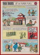 Taka Takata Et La Fusée Fufu. Bande Dessinée Créé Par Jo-El Azara En 1965 Sur Un Scénario De Vicq. Histoire Complète. - Vieux Papiers