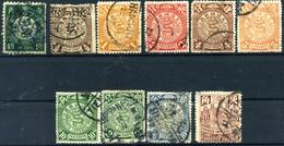 1897-8 Cina, Lotto Francobpolli Usati - Cina