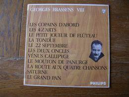 """33 Tours 30 Cm - GEORGES BRASSENS - PHILIPS 844757  """" LES COPAINS D'ABORD """" + 10 ( SETE - CETTE ) - Autres - Musique Française"""