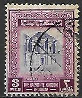 JORDANIE    -    Monument ,  3 Fils  Oblitéré - Jordan
