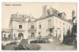 Watermael-Boitsfort Maison Haute Carte Postale Ancienne - Watermael-Boitsfort - Watermaal-Bosvoorde