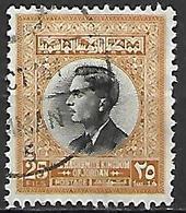 JORDANIE    -   Roi Hussein ,  25 Fils  Oblitéré - Jordan