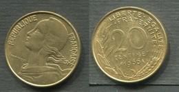 20 CENTIMES 1966 - E. 20 Centimes