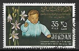 JORDANIE    -   1962 .  Prince Hussein,   Oblitéré. - Jordan
