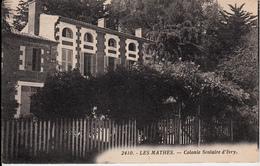 17  LES MATHES   COLONIE SCOLAIRE D'IVRY - Sonstige Gemeinden