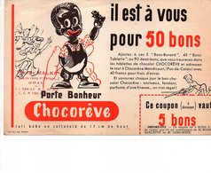 Buvard Chocorêve - Chocolat