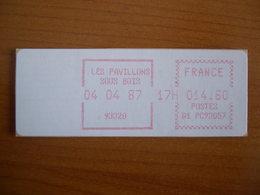 Vignette Distributeur  14.60 Les Pavillons Sous Bois  (93) - 1969 Montgeron – White Paper – Frama/Satas