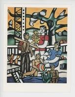 """Fernand Léger  1881-1955  """"Le Campeur"""" 1954 (musée Iot) Cp Vierge - Peintures & Tableaux"""