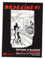 BEDECINE 91 Autocollant ILLZACH - Boeken, Tijdschriften, Stripverhalen