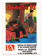 BEDECINE 93 Autocollant ILLZACH - Boeken, Tijdschriften, Stripverhalen