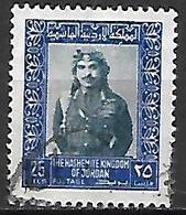 JORDANIE    -   Roi Hussein,   Oblitéré . - Jordan