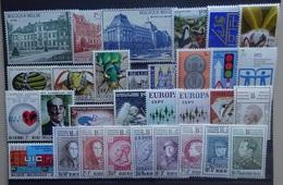 BELGIE  1971   Samenstelling  Van Nr. 1605  Tot 1635    Zie Foto    Postfris ** - Belgium