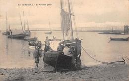 ¤¤   -   LA TURBALLE   -  La Grande Jetée   -  Bateaux De Pêche   -  ¤¤ - La Turballe
