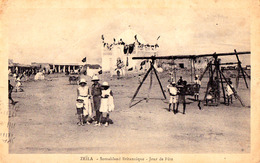 ZEÏLA - SOMALILAND BRITANNIQUE : JOUR DE FÊTE ~ 1930 - '935 (ae403) - Somalie