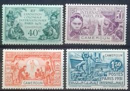 N°149 à 152 EXPOSITION COLONIALE INTERNATIONALE DE PARIS DE 1931 COTE 32 € NEUFS * MH (n°151 Petites Tâches Au Verso) - Unused Stamps