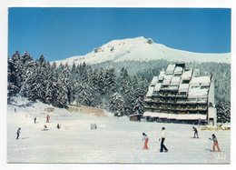 LAVEISSIERE--1981--Super Lioran Alt 1520m -- Le Font Du Roy (animée, Ski )...cachet THIEZAC-15......à Saisir - Andere Gemeenten