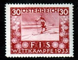 AUTRICHE - N°428 * (1933) F.I.S - 1918-1945 1ère République