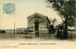 80  SAINT VALERY SUR SOMME N° 699 - LE TRIBUNAL DE COMMERCE - Saint Valery Sur Somme