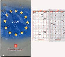 Agenda Avec  Calendrier 1999 - Caisse D' Epargne     (118597) - Calendriers