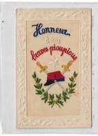 CPMJ4483 HONNEUR A NOS BRAVES PIOUPIOUS (MILITARIA) (PATRIOTIQUE) - Ricamate
