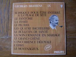 """33 Tours 30 Cm - GEORGES BRASSENS - PHILIPS 844758 """" SUPPLIQUE POUR ETRE ENTERRE A LA PLAGE DE. """" + 10 ( SETE - CETTE ) - Autres - Musique Française"""