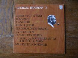 """33 Tours 30 Cm - GEORGES BRASSENS - PHILIPS 849490 """"  MISOGYNIE A PART. """" + 8 ( SETE - CETTE ) - Autres - Musique Française"""