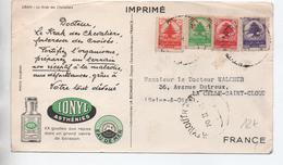 CARTE IMPRIME PUBLICITAIRE PUB SANTE De BEYROUTH (LIBAN) - Líbano