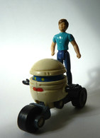 Loose Figurines  M.A.S.K. T-BOB Avec SCOTT TRAKKER - KENNER - FIGURINE (2) - Figurines
