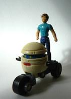 Loose Figurines  M.A.S.K. T-BOB Avec SCOTT TRAKKER - KENNER - FIGURINE (2) MASK - Action- Und Spielfiguren