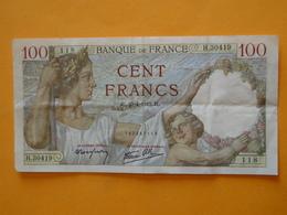 """FRANCE -- Billet De 100 Francs """" Sully """" 1942 - 1871-1952 Antichi Franchi Circolanti Nel XX Secolo"""