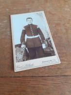 MANN IN DEUTSCHLAND DAZUMAL - FRANKFURT A.O. - CARL SILLACK -   STRAMMER OFFIZIER - Krieg, Militär