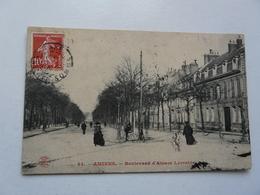 CPA 80 SOMME - AMIENS : Boulevard D'Alsace Lorraine - Amiens