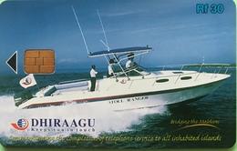 MALDIVES  -  Phonecard  -  DHIRAAGU  -  Rf 50 - Maldivas