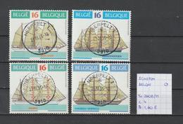 SCHEEPVAART - België Yv. 2608/11 Gestempeld/oblitéré/used - Ships