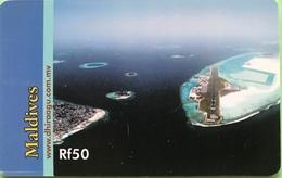 MALDIVES  -  Phonecard  -  DHIRAAGU  -  Rf 50 - Maldive