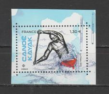 """FRANCE / 2019 / Y&T N° 5328 ** : Du Bloc """"Sport Couleur Passion"""" (Canoë-Kayak) X 1 - Nuevos"""