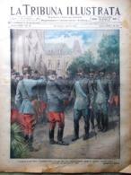 La Tribuna Illustrata 25 Luglio 1915 WW1 Croce Rossa Joffre Porro Tolmino Cadore - Guerre 1914-18
