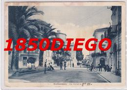 GROTTAMMARE - VIA CAIROLI F/GRANDE VIAGGIATA 1940 ANIMATA - Ascoli Piceno