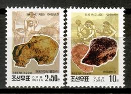 Korea North 1998 Corea / Prehistory MNH Prehistoria Prähistorie / Cu16833  33-55 - Prehistoria