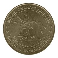 Monnaie De Paris , 2011 ,Saint Laurent Sur Mer , Mémorial D'Omaha Beach , Musée Omaha , 6 Juin 1944 - Other