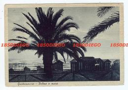 GROTTAMMARE - PALME E MARE F/GRANDE VIAGGIATA 1941 - Ascoli Piceno