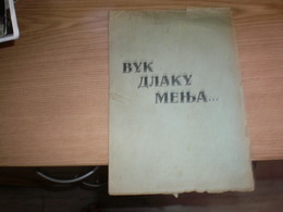 WW II Anti- Allies Propaganda   Judaica Bolshevism,anti Mason RRR Vuk Dlaku Menja Cud Nikad Wolf Hair Changes, A Whim Ne - 1939-45