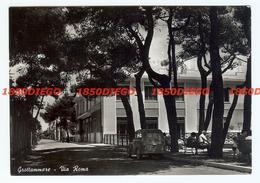GROTTAMMARE - VIA ROMA  F/GRANDE VIAGGIATA 1955 ANIMATA - Ascoli Piceno