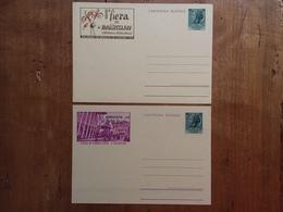 TRIESTE A - 2 Cartoline Postali - Fiera Di Padova E Fiera Palermo Rinviate - Nuove ** + Spese Postali - 7. Trieste