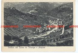 VALLATA DEL TRONTO DA TRISUNGO E ARQUATA F/GRANDE VIAGGIATA 1949 - Ascoli Piceno