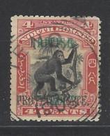 North Borneo - 1901 - Usato/used - Overprint - Mi N. 100 - Borneo Del Nord (...-1963)