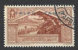 Italia - Tripolitania - 1934 - Usato/used - Virgilio - Sass N. 79 - Tripolitaine